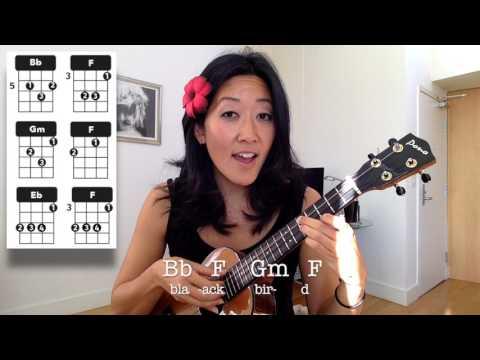 Blackbird Part 3 // Beatles Ukulele Tutorial