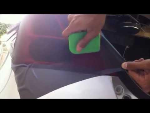How to smoke tail lights with smoke film (swift)