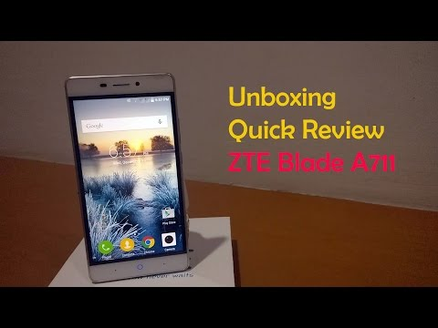 did review zte a711 indonesia case and glass