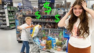 I Let My Little Brother Do All My Grocery Shopping For The Week! I Aud Vlogs