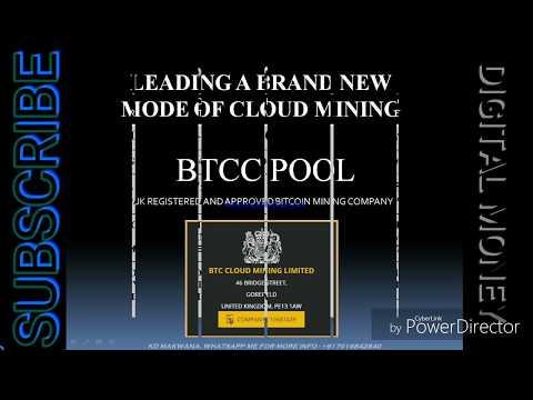 BCM | BTCC | BTCCLOUDMINING BITCOIN MINING COMPANY