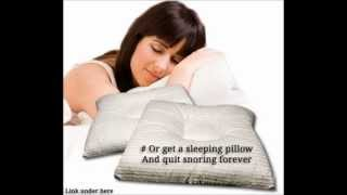 Snoring - How to Stop Snoring for Good.wmv