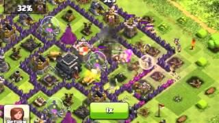 a tough raid clash of clans