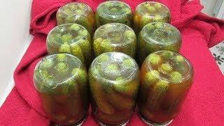 Каждый год ИХ делаю и ВСЕГДА МАЛО - Огурцы с кетчупом Чили