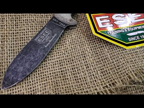 Bladeshow 2019- New From Esee! Ashley Game Knife