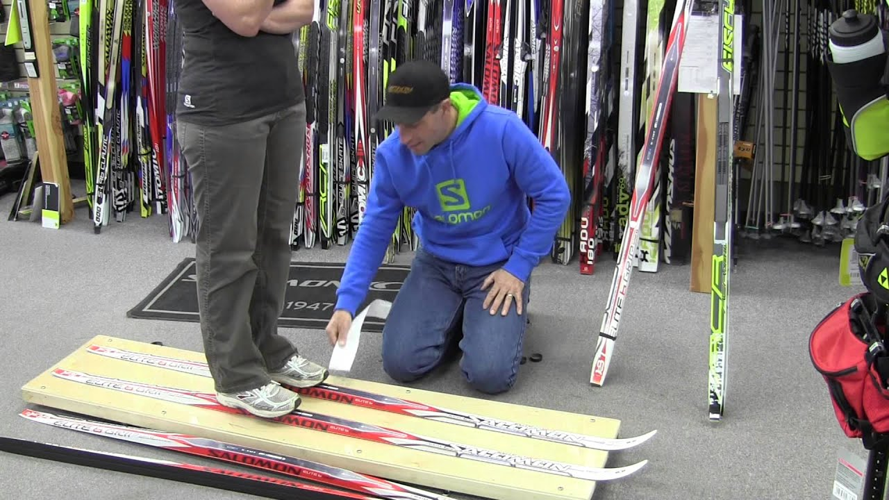 McBike explains how to select the correct length of xc ski - YouTube