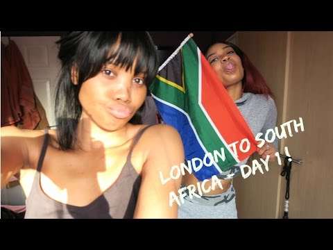 LONDON TO SOUTH AFRICA DAY 1 !