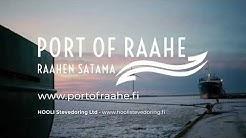 Port of Raahe / Raahen satama / Порт Раахе – International seafaring and trade since 1649