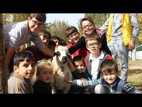 Erzurum'da Kuzulu Çocuk Kütüphanesi