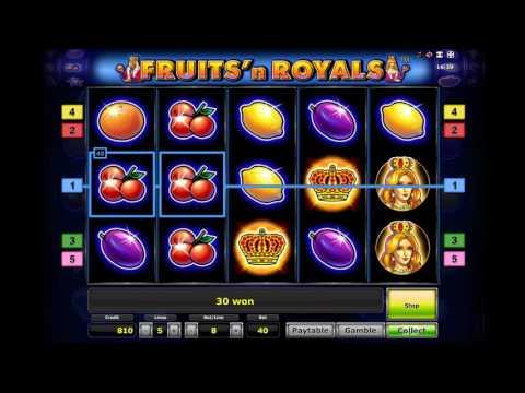 Как играть в игровой автомат Fruits And Royals. Обучение