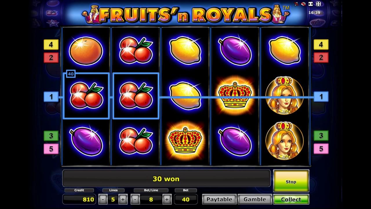 fruits and royals игровой автомат