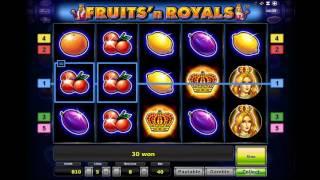 видео Автомат Fruits and Royals (Фрукты и Королевские особы)
