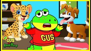 Adopting New First Pet and Learning Animals with Gus the Gummy Gator