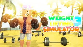 😱10 YILLIK KASI 1 GÜNDE YAPMAK/ROBLOX Weight Lifting Simulator 3 /TÜRKÇE😱