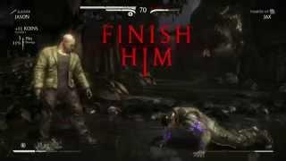 Mortal Kombat X Jason Voorhees Sleeping Bag Killer Fatality