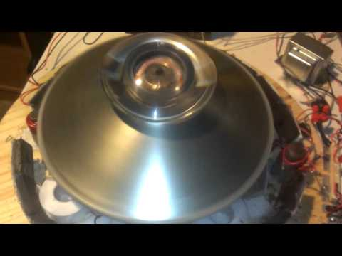 Magnetgate UFO Coil Dual Pulse Motor Bench Test!!!