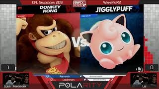 CFL Smackdown Ultimate 209 - Liquid | Hungrybox (Jigglypuff) vs Lee (Donkey Kong) - Winners R2