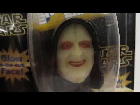Chapter 341: Glow In The Dark Palpatine PEZ Variations