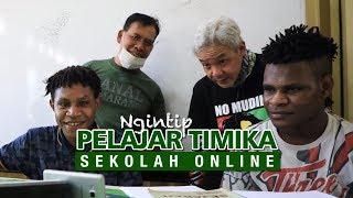 Ngintip Pelajar Timika yang Sedang Sekolah Online