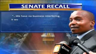 Senate Stand-Off Over Security Laws
