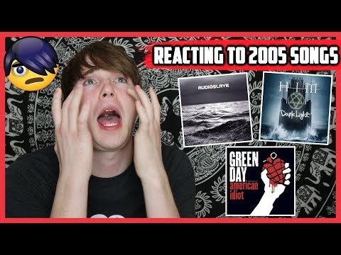 REACTING TO MY FAVORITE SONGS OF 2005 (Gorillaz, Nickelback, & More)