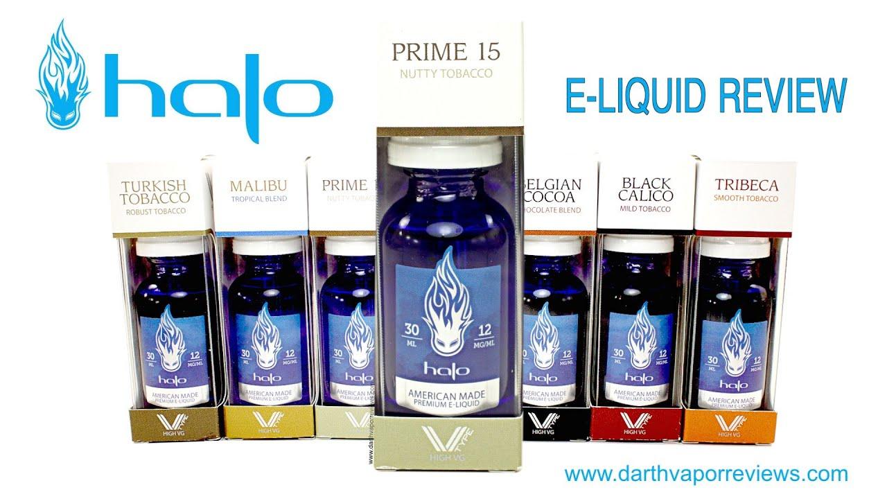 """Halo Cigs: V-Type """"Prime 15"""" E-Liquid Review"""