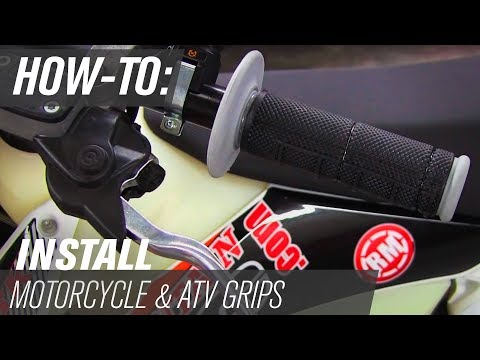 How To: Remove and Install Dirt Bike and ATV Grips
