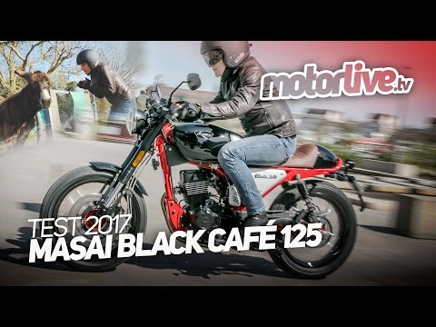 MASAI BLACK CAFE 125 | TEST COMPLET
