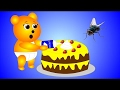 Mega Gummy Bear Food Poison Cake Funny Cartoon Finger Family Nursery Rhymes