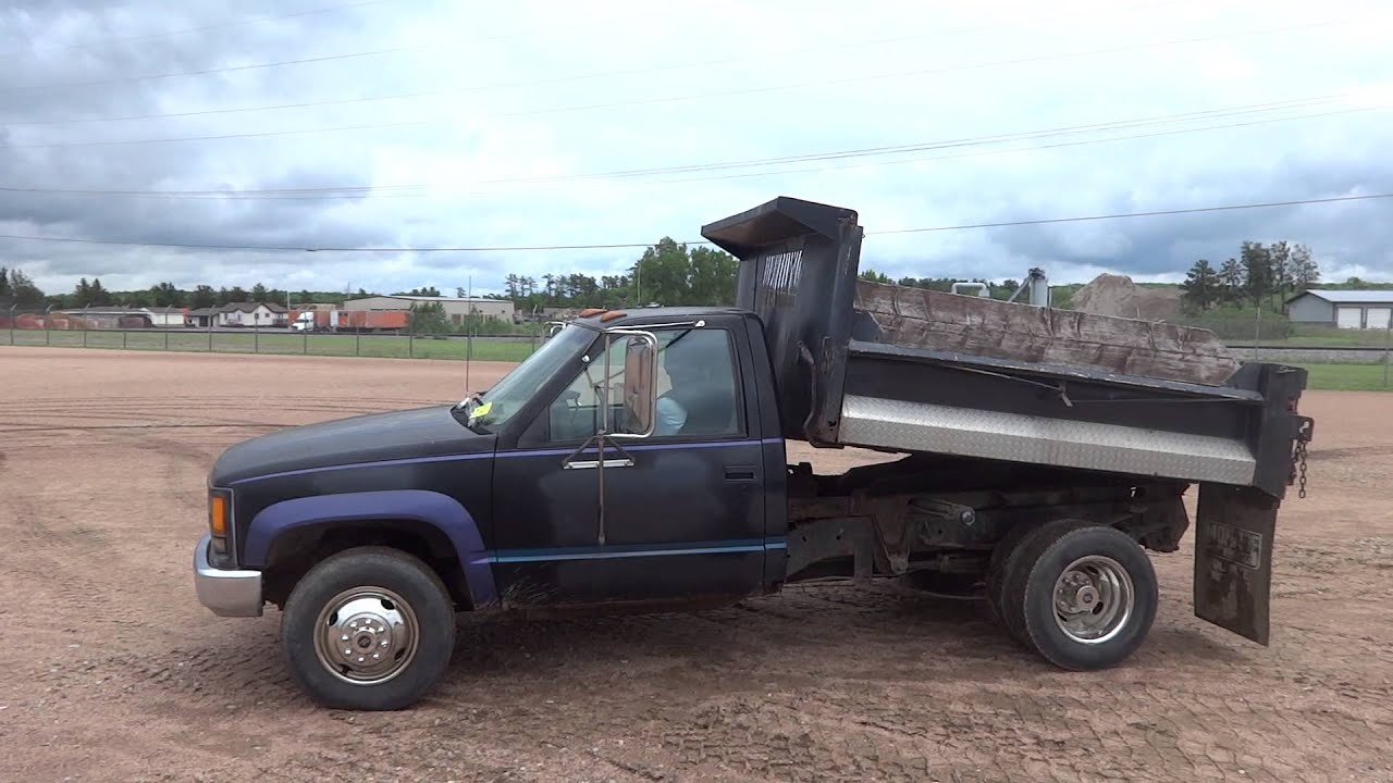 1994 Chevy 3500 1 Ton Dump Truck