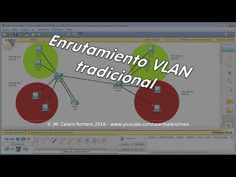"""ENR01. Cisco Systems. Enrutamiento VLAN. Modo """"tradicional"""""""