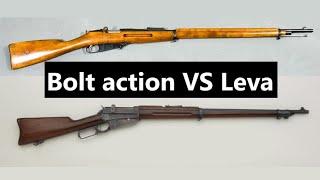 Bolt action VS Leva