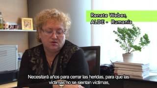 La Eurodiputada Renate Weber apoya la paz en Colombia