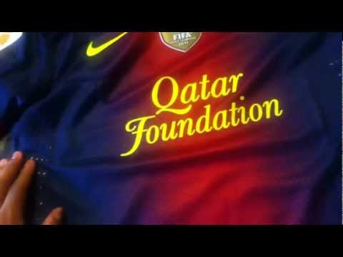 FC Barcelona 2013 Authentic Jersey