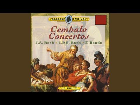 Concerto for Cembalo and Strings in F Major, Wq. 33: I. Allegretto