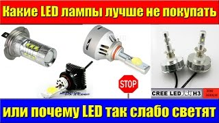 Какие LED лампы лучше не покупать(Группа ВК, где можно задать свой вопрос : https://vk.com/test__lab INSTAGRAM: https://instagram.com/test__lab Тесты ламп H7 ..., 2015-10-23T23:40:46.000Z)