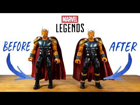 "Marvel univers BETA RAY BILL 4/"" Action Figure"