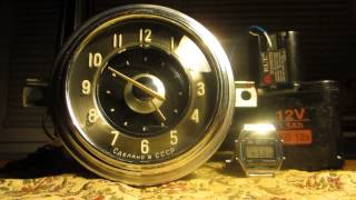 Часы автомобиля ГАЗ-21 Волга