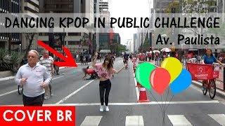DANCING KPOP IN PUBLIC CHALLENGE (BTS, IKON, TWICE, etc) #5 100K by BLACK SHINE