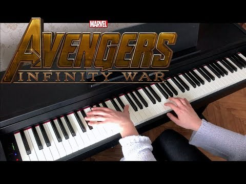 AVENGERS: Infinity War - Official Trailer #1 Music (Piano Cover)