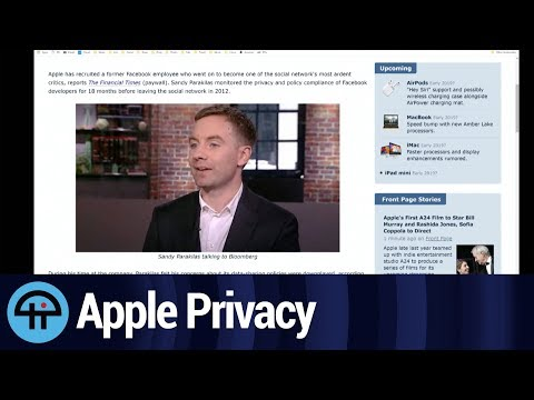 Apple Doubles Down on Privacy With New Hire