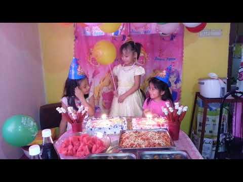 My 4th Birthday Celebration