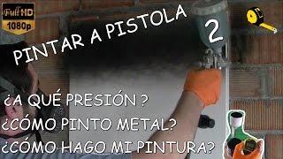 COMO PINTAR A PISTOLA 2 (Presión, viscosidad de la pintura y algunos trucos jejejeje) thumbnail