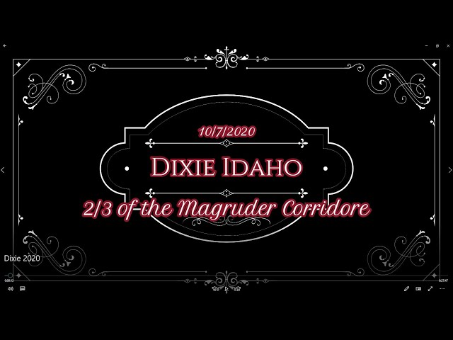 Old Buzzard Video Presents - Dixie 2020