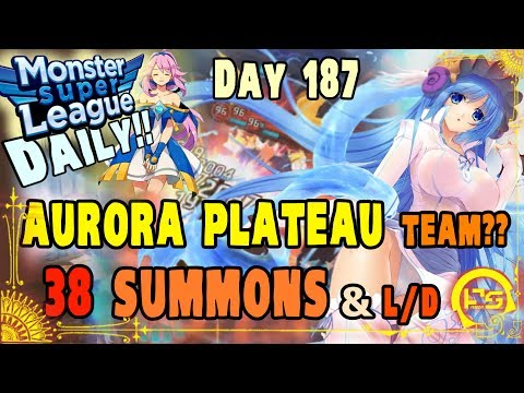 Monster Super League DAILY!! FINALLY BUILD SOME WATER MONAS!! ABOUT DAM TIME!! +38X SUMMON!!♕Ep.187