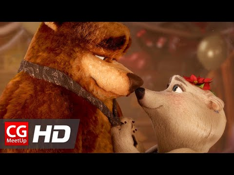 "CGI Animated Short Film: ""Bear With Me - Love Story"" by Rodrigo Chapoy 