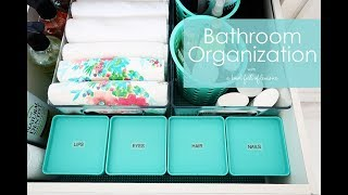 Bathroom Organization with INTERDESIGN