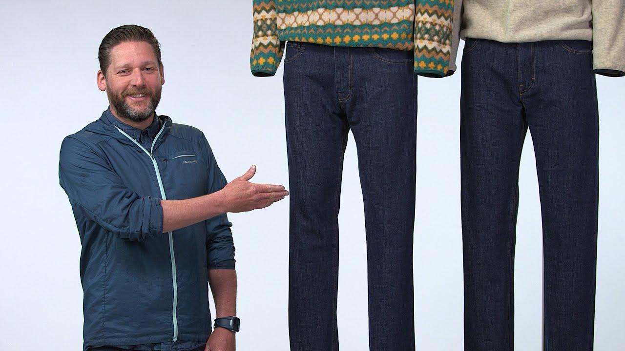 058b301b461d Patagonia Men's Regular Fit Jeans - YouTube