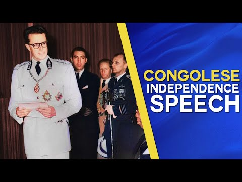 Congolese Independence speech by King Baudouin