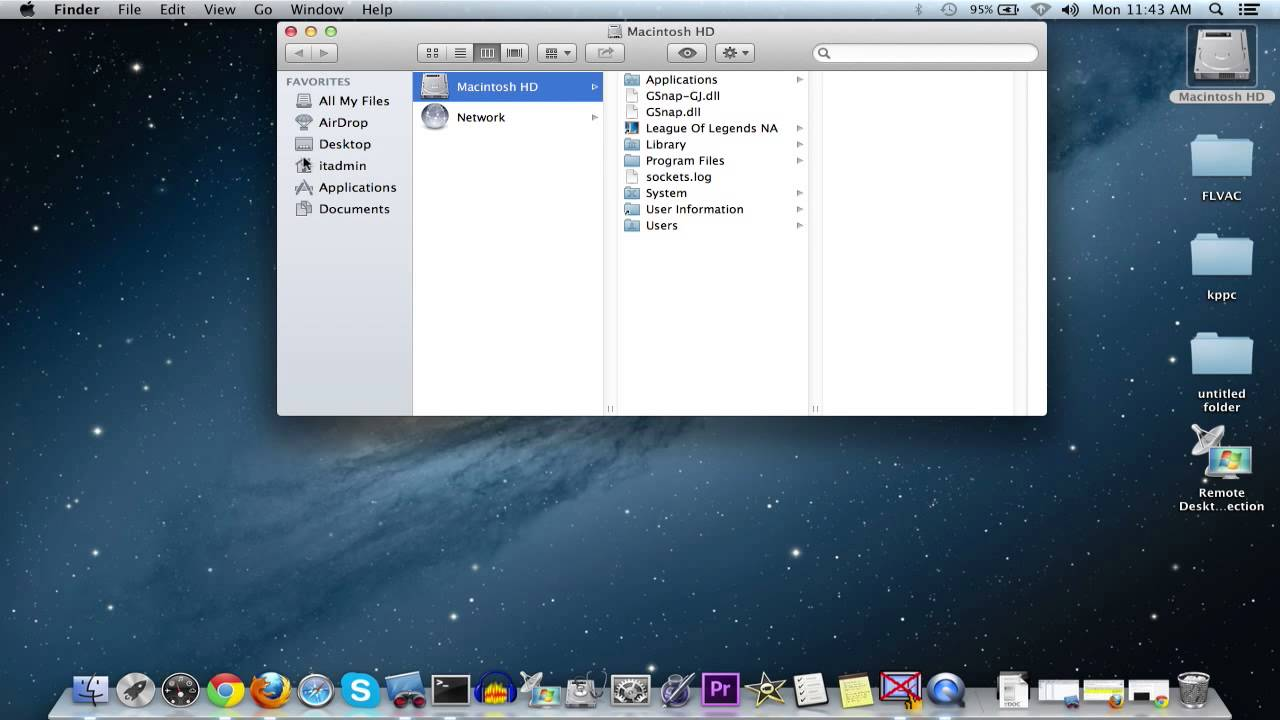 mac show user library folder mountain lion